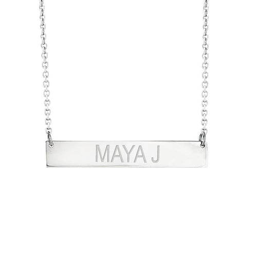 Personalized Bar Necklace - BR5002P