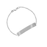 Personalized  Engravable Bar Bracelet
