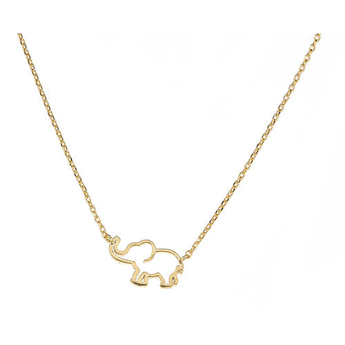 Elephant Necklace - CZPB44