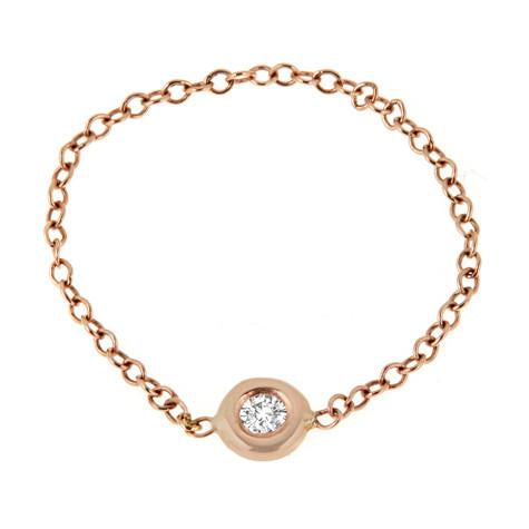 Bezel Chain Ring -R0303
