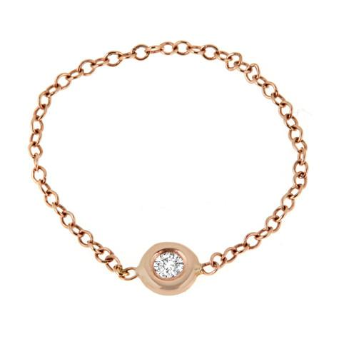 Bezel Chain Ring - R0303