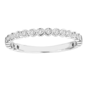 Bezel Stackable Ring - R3327