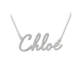 Personalized Script Name Necklace - MSNAMS