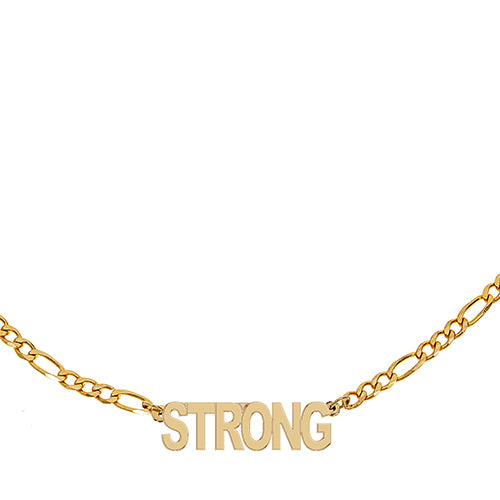 Figaro Strong Necklace - EPFIG24