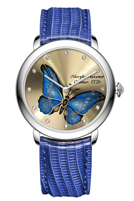 Glorious Butterfly. Azure Mirage.