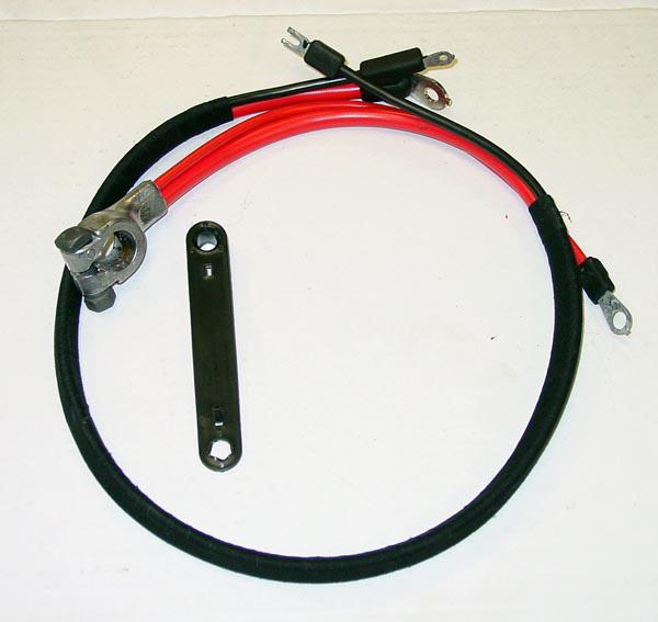 1973 Plymouth Valiant Positive Battery Cable 6 Cylinder