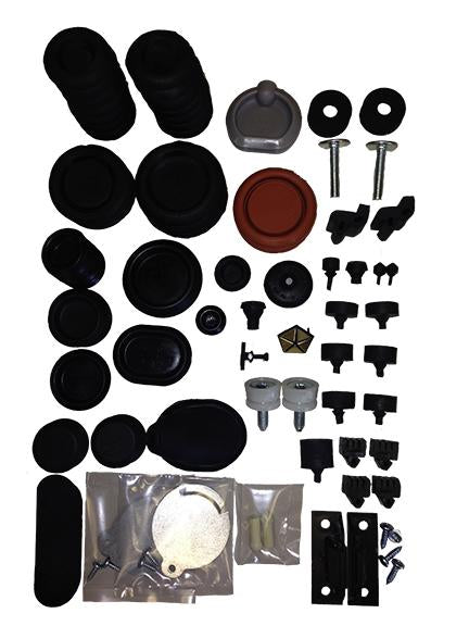 1976 Plymouth Scamp 2Dr Htop Complete Body Plug Kit