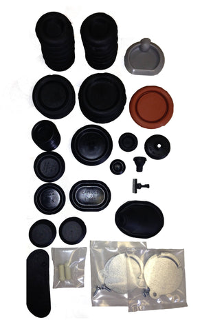 1965 Dodge Dart 4Dr Sedan Correct Style Super Body Plug Kit