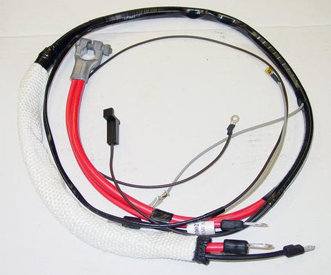 1966 Plymouth Satellite Positive Hemi Battery Cable Automatic Transmission