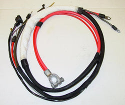 1968 Plymouth Satellite Positive Hemi Battery Cable A/T w/3 prong neutral saftey switch