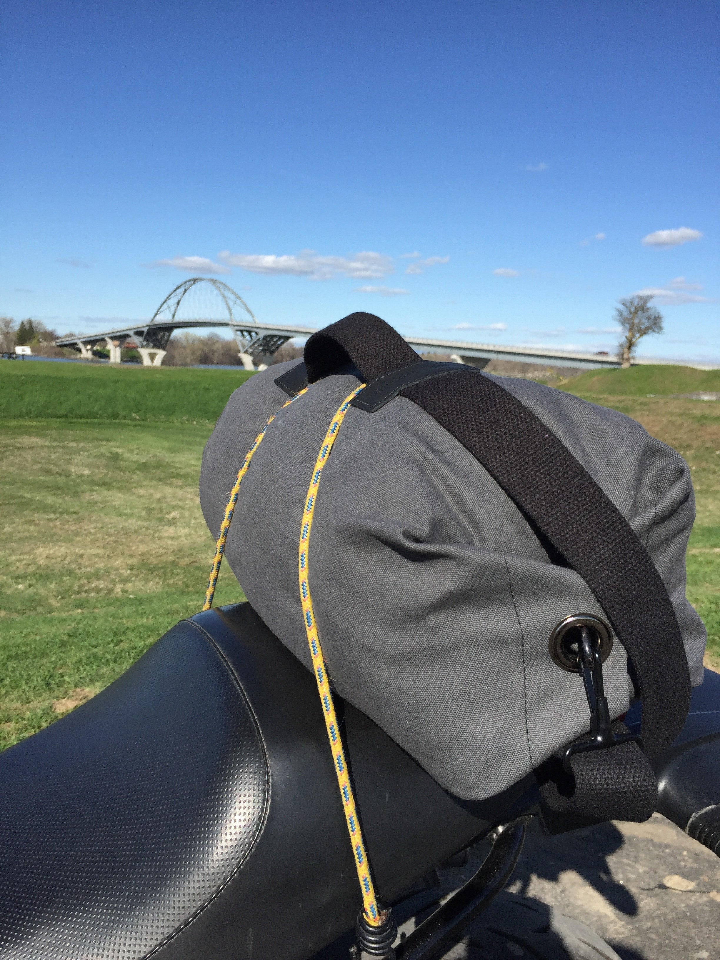 the shawshank motorcycle bag