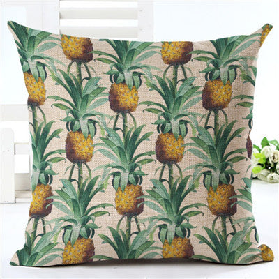 Pineapple Cushion Cover - Ollamy