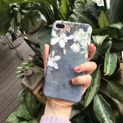 Retro Art Flower Phone Case - Ollamy