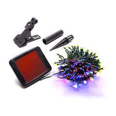 100 Multi-Color Solar Christmas Lights - String