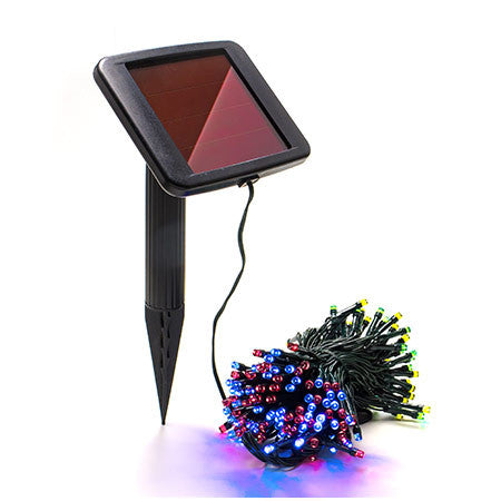 200 Multi-Color Solar Christmas Lights - String