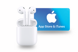 ION360 U with AirPods & $50 iTunes Gift Card