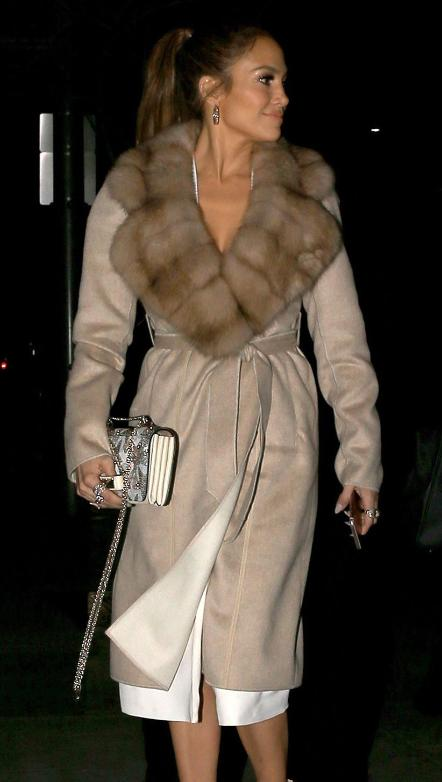 Ladies Real Fur Capes