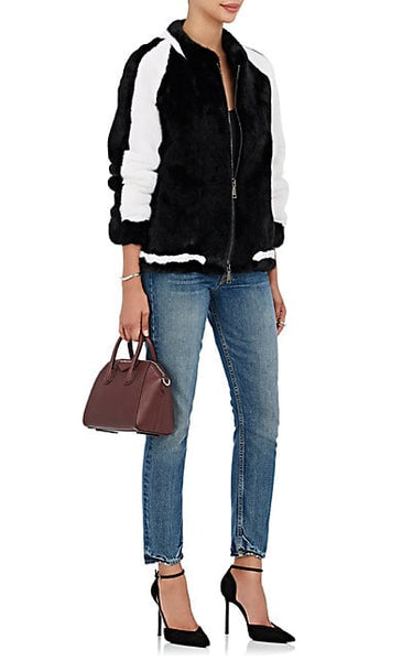 Baseball Mink Fur Jacket