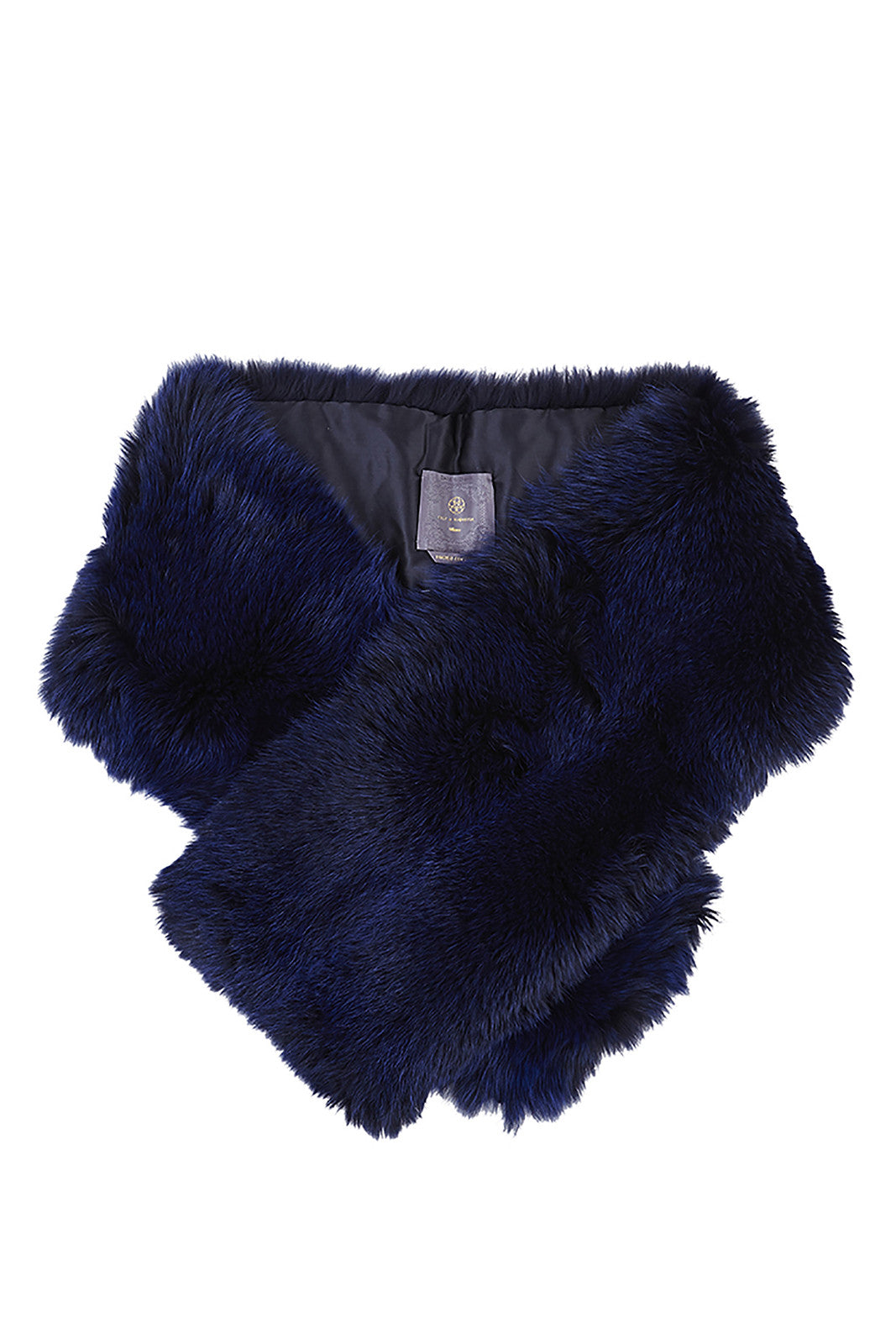 arabella womens fox fur scarf  Blu Fox