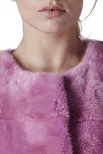 Load image into Gallery viewer, Sarah Mini Mink Fur Jacket Orchidea