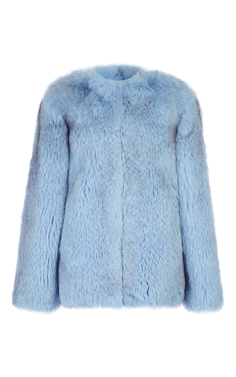 Maria Fox Fur Jacket