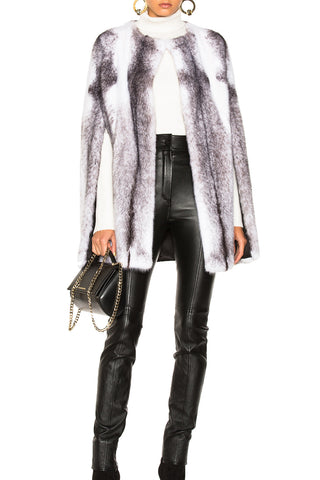 Maria Mink Fur Cape
