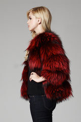 Foxy Fox Fur Jacket