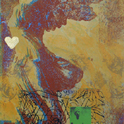 Walter Knabe Artwork Psyche's Love Limited Edition Screenprint