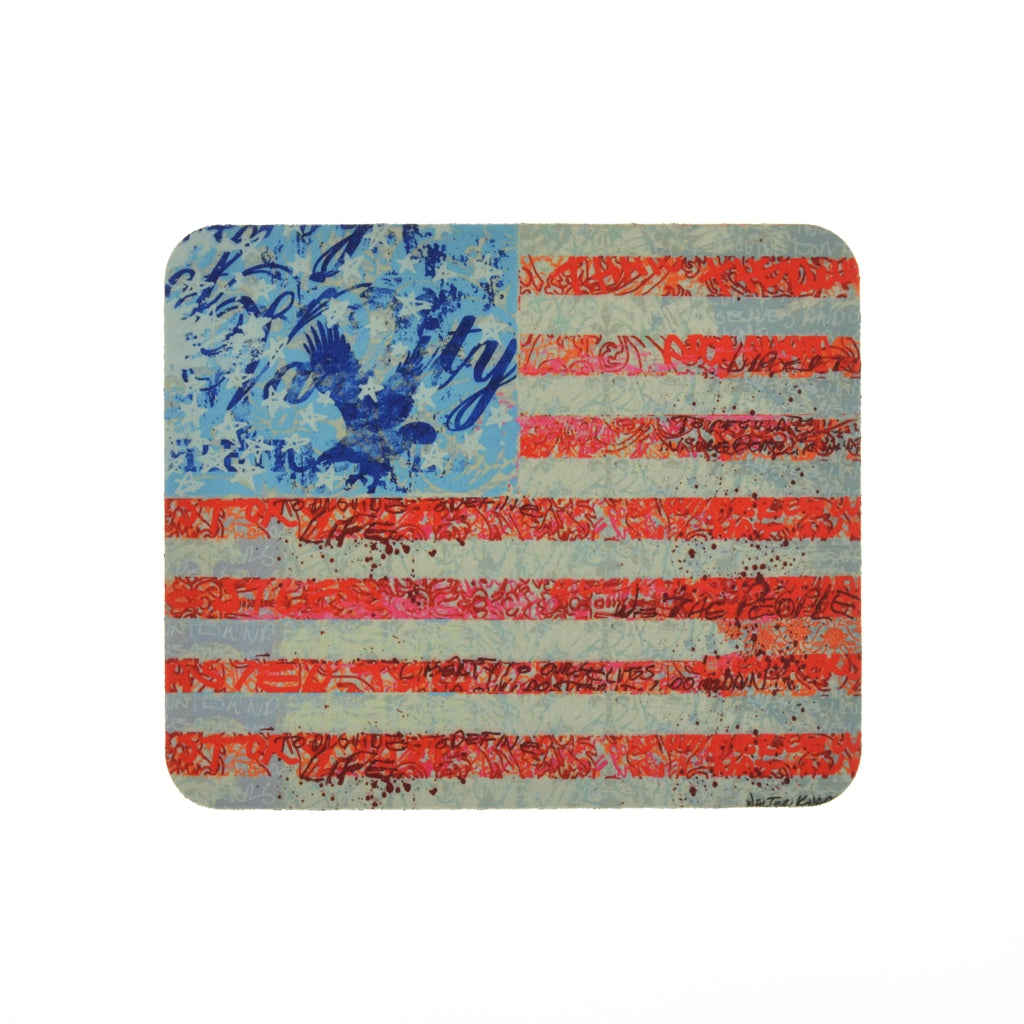 Walter Knabe Mouse Pad Flag