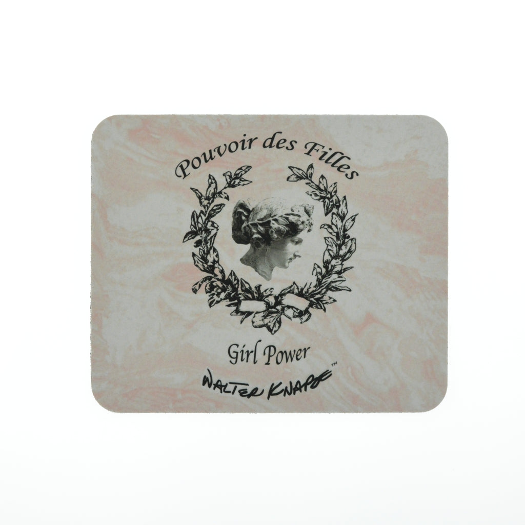 Walter Knabe Mouse Pad GIRL POWER