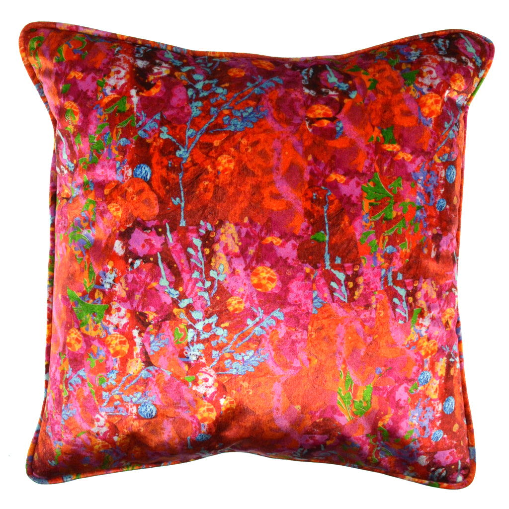 "Walter Knabe Pillow 20"" Velvet Apollo"