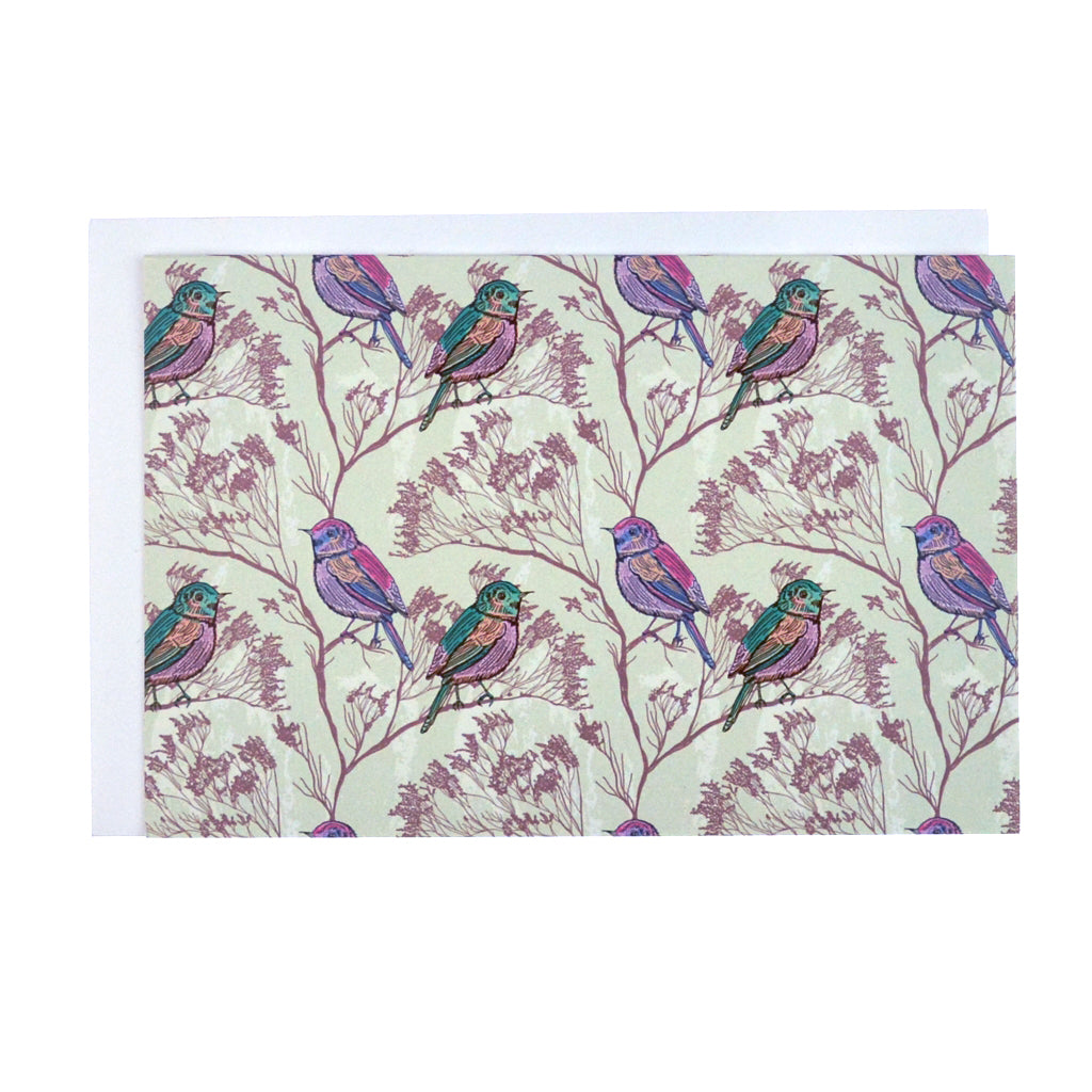 Walter Knabe Notecard Set Spring Birds