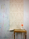 Walter Knabe Broken Brocade Hand Printed Wall Covering