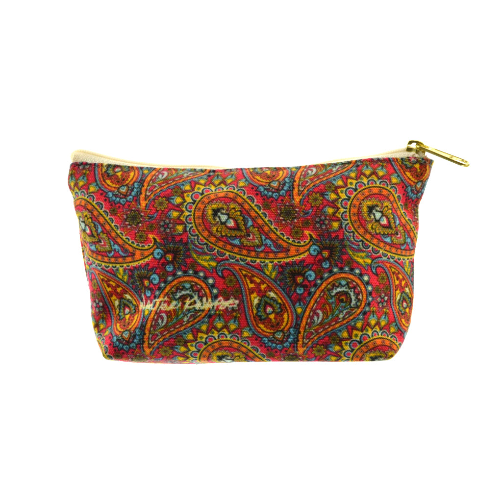 Walter Knabe Pouch Dancing Paisley