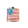 Walter Knabe Flask Flag