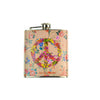 Walter Knabe Flask Floral Peace