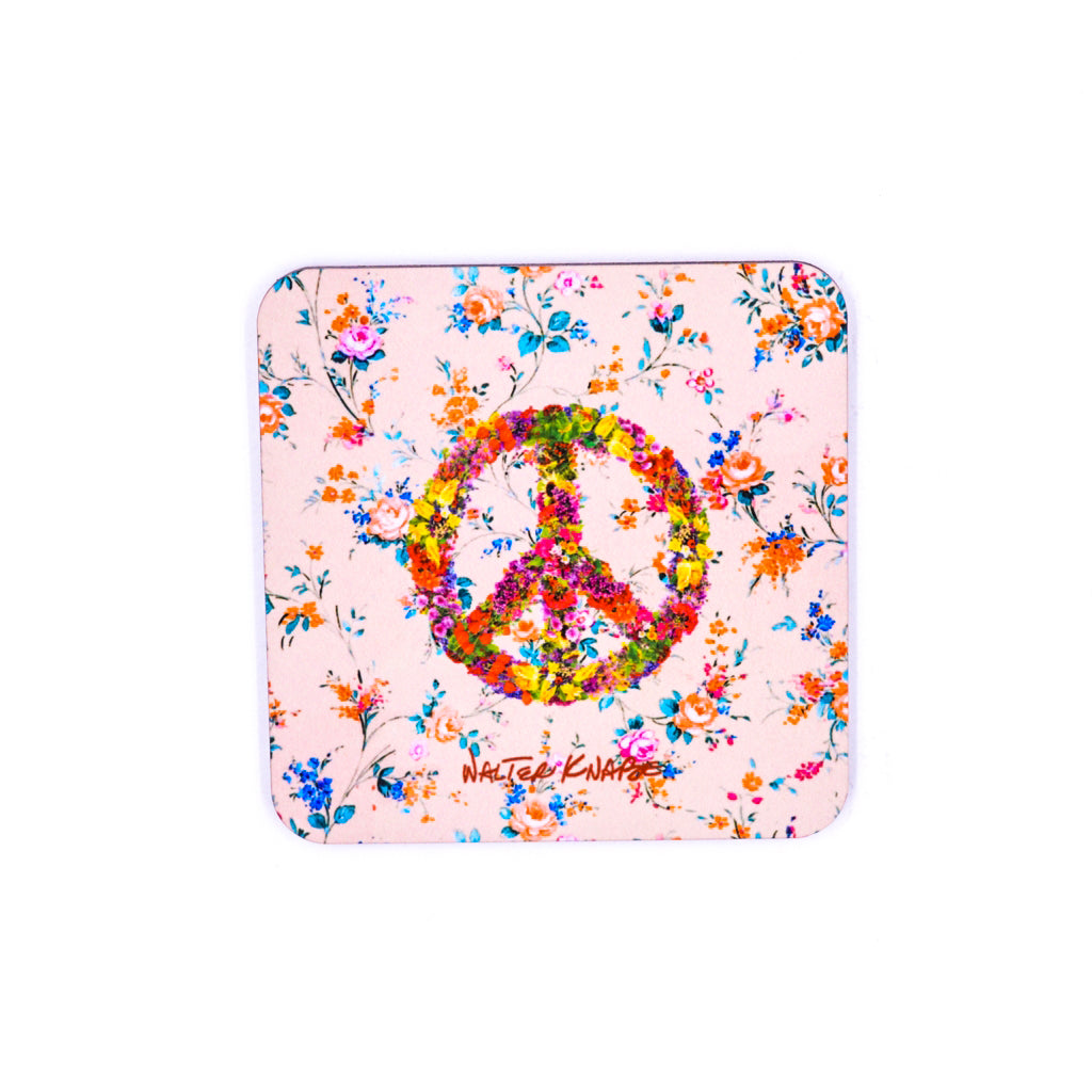 Walter Knabe Coaster Set Floral Peace