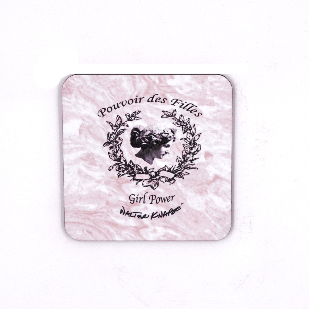 Walter Knabe Coaster Set GIRL POWER