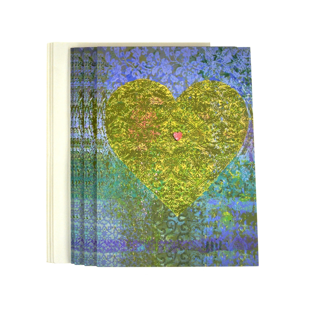 Walter Knabe Notecard Set Heart