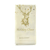 Walter Knabe Hand Printed Napkin Set Holiday Deer