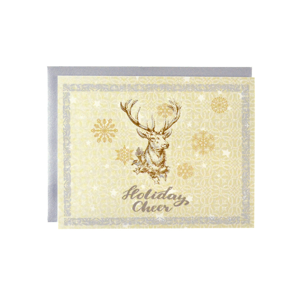 Walter Knabe Holiday Notecard Set Holiday Deer