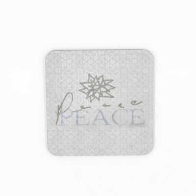 Walter Knabe Coaster Set Holiday Peace