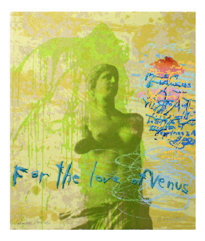 Walter Knabe Artwork For The Love of Venus Limited Edition Screenprint