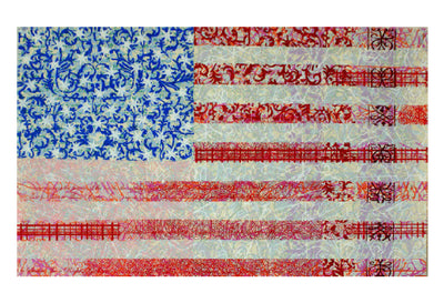 Walter Knabe Artwork Flag I Limited Edition Screenprint