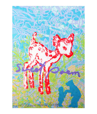 Walter Knabe Artwork Sweet Dream Limited Edition Screenprint