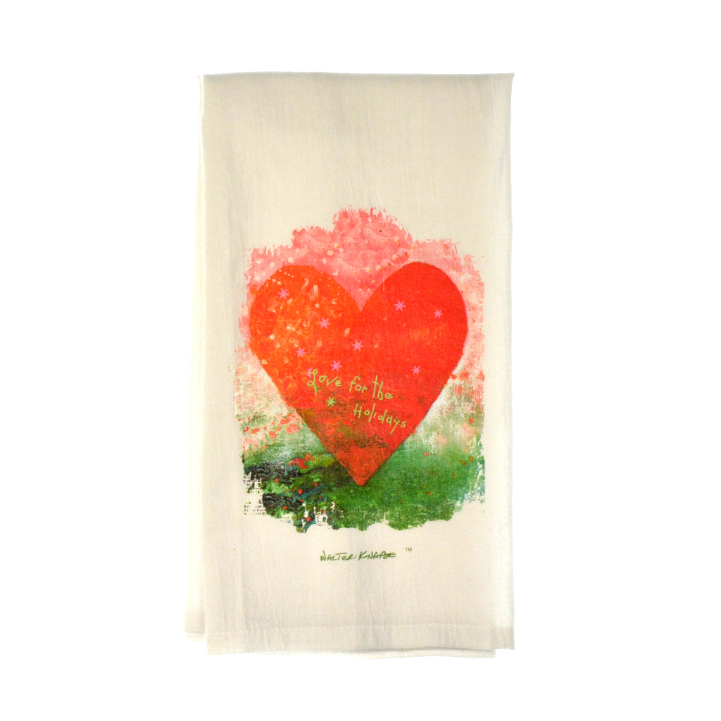 Walter Knabe Tea Towel Love For The Holidays