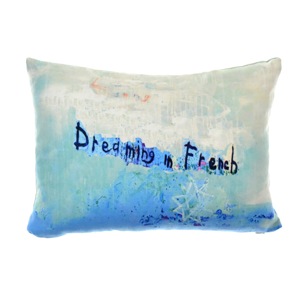Walter Knabe Lumbar Pillow Dreaming In French