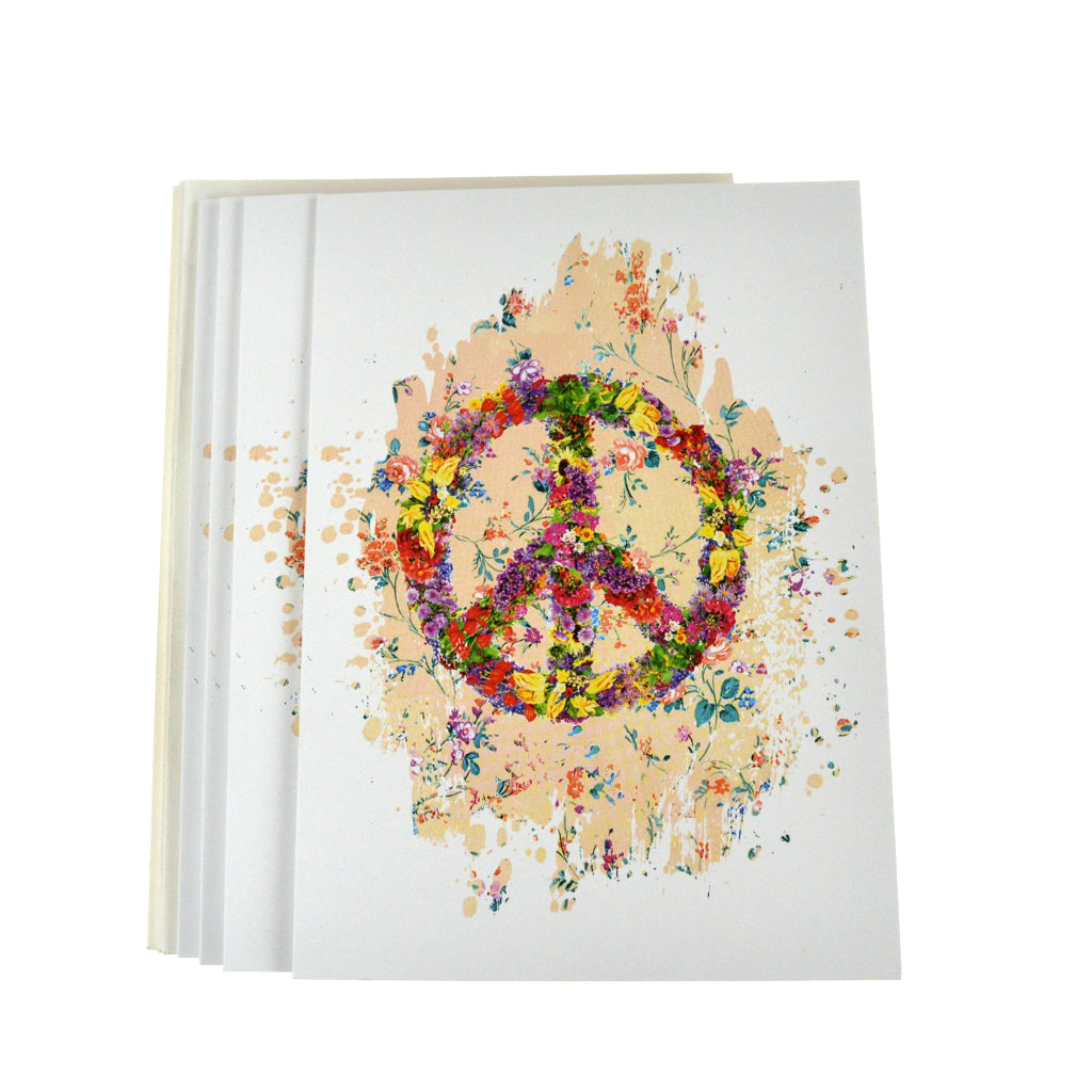 Walter Knabe Notecard Set Floral Peace