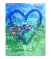 Walter Knabe Artwork Original Painting Happy Home Heart