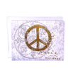 Walter Knabe Holiday Notecard Set Peace For The Holidays